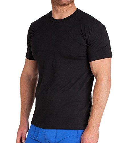 STR-Camisetas-de-Bamb-Pack-de-2-Camiseta-para-Hombre-Tela-de-Bamb-Antibacterial-y-Algodn-Orgnico