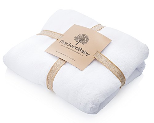 100% Organic Turkish Cotton Hooded Baby Bath Towel by The Good Baby (Baby Both Tub compare prices)