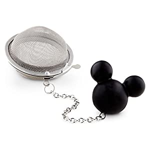 Disney World Parks Exclusive Mickey Mouse Icon Stainless Steel Tea Ball Strainer Infuser -... by Disney