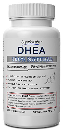 # 1 DHEA Par Labs Superior - 100% naturel, 100mg,