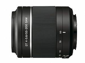 Sony 55-200mm f/4-5.6 SAM DT Telephoto Zoom Lens for Sony Alpha Digital SLR Cameras