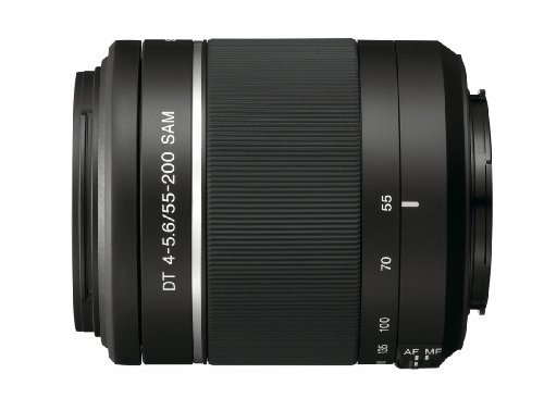 Sony 55-200mm f/4-5.6 SAM DT Telephoto Zoom Lens for Sony Alpha Digital...