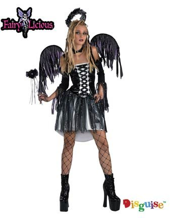 Fairy Licious Fallen Angel Teen Costume