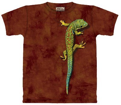 Bright Eyes Reptile Adults and Child Size T-Shirt (ADULT ( M Fits Chest -38 inch / 97 cm))