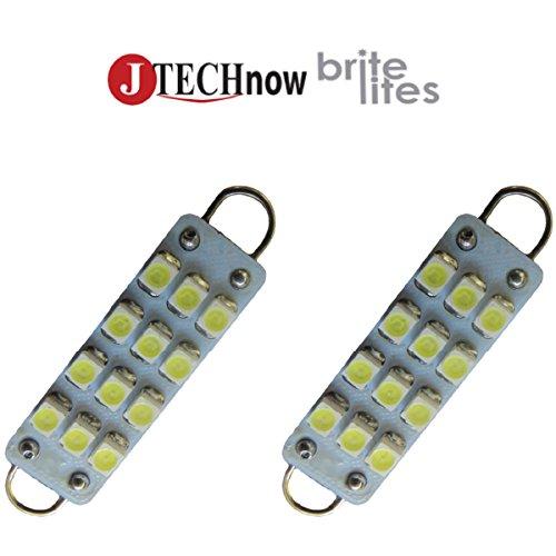 "Jtech 2X 1.72"" 43Mm 12-Smd 211-2 212-2 214-2 561 Rigid Loop Festoon Led Bulb"