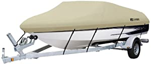 Classic Accessories Dryguard Waterproof Boat Cover by Classic Accessories