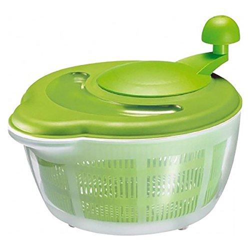 Westmark 2432226ha Centrifuga per insalata Polipropilene verde/bianco 29x 25,2x 21,5cm 5,0l