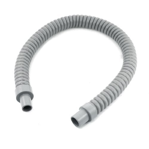 Gray Plastic Water Drain Pipe Hose 60cm Long for Air Conditioner Model: Tools & Home Improvement