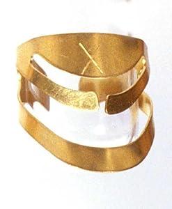 Alaska Brass Finger Picks Sold SingleyExtra Large