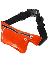 Banggood Unisex Ultrathin Outdoor Running Jogging Waist Bag Sports Pockets Bag Orange