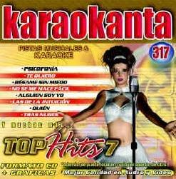 Karaokanta KAR-4317 - Top Hits - VII Spanish CDG Various