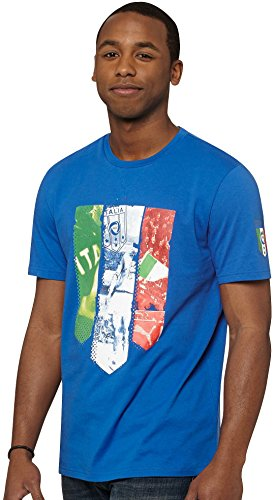 Puma Mens 2014 Italia Coach Badge T-Shirt