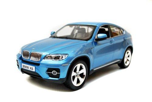 1/16 Scale 2011 BMW X6 Radio Remote Control Car RC RTR (Blue)
