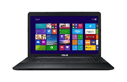 Asus F751MA-TY121H 43,9 cm (17,3 Zoll) Notebook (Intel Celeron Quad Core N2930, 2,1GHz, 4GB RAM, 1TB HDD, Intel HD, DVD, Win 8) schwarz