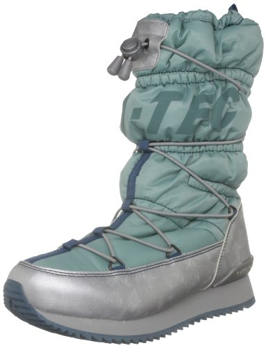 Hi-Tec Women's New Moon 200 Reef/Silver/Dolphin Snow Boot O001426/031/01 7 UK