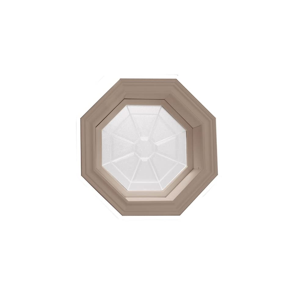 Vinyl Octagon Window Interior Trim Kit In Stainable On Popscreen