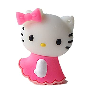 Quace 4 GB Hello Kitty Cute USB Pen Drive