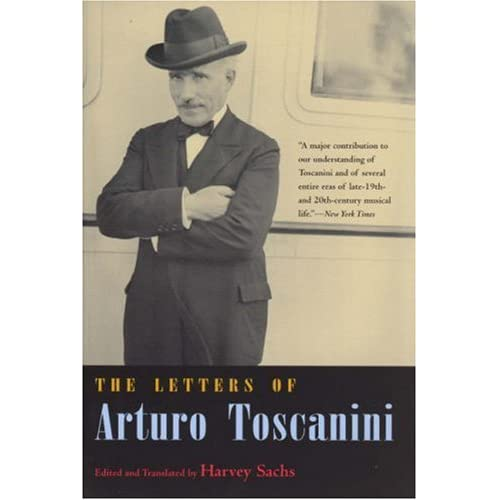 Hevey Sachs篇『The Letters of Arturo Toscanini』の商品写真