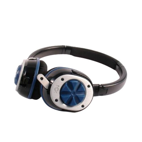 Nox Audio Specialist Gaming Headset (Blue) for listening to music on your iPod and iPhone as well as gaming, Xbox 360 and Sony PS3; Skype or chatting on your PC