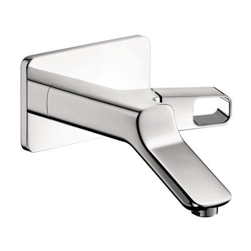 11026001 Axor Urquiola Wall-Mount 1-Handle Bathroom Faucet Trim Kit In Chrome (Valve Not Included). Trim Kit-Yow