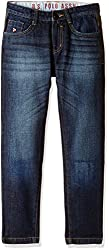 US Polo Association Boys Jeans (JN5147_Tinted_6 - 7 years)
