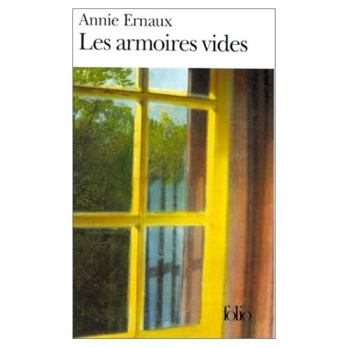 Les armoires vides, d'Annie ERNAUX dans Litterature francaise 414VD5JGEKL._SS500_