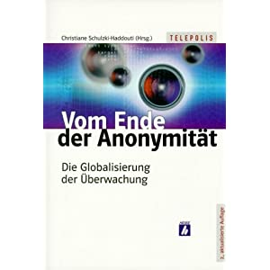 eBook Cover für  Vom Ende der Anonymit xE4 t