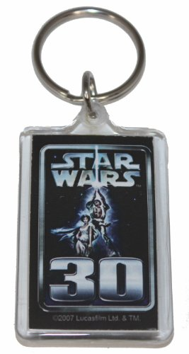 Licenses Products Star Wars 30th Lucite Keychain