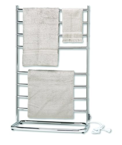 Best Price Jerdon WHC Warmrails Hyde Park Family Size Floor Standing Towel Warmer, 39-Inches, Chrome...