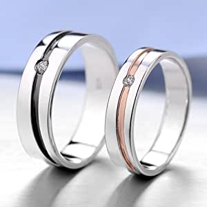 matching engraved promise rings for him and
