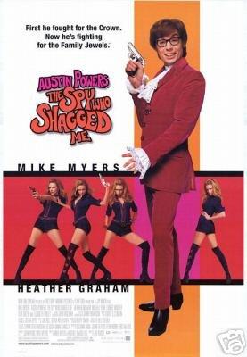 Austin Powers: The Spy Who Shagged Me 27x40 Original Movie Poster