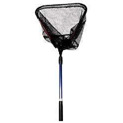 Aluminum Alloy Foldable Landing Fishing Net with Telescopic Handle