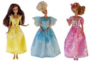 Vestido de fiesta: Princess (conjunto de 3)