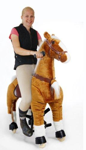 Spielzeug plüschpferd zum reiten mit rollen wo kaufen