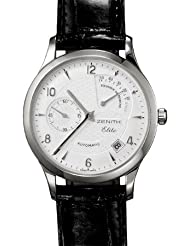 Save Huge On Zenith Class Reserve De Marche Men's Automatic Watch 03-1125-685-01-C490 Limited time