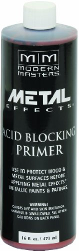 Modern Masters AM203-16 Acid Blocking Primer White, 16-Ounce