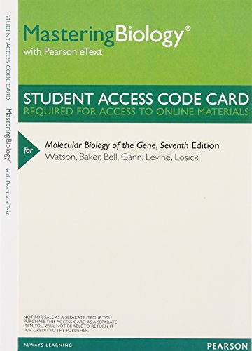 Molecular Biology of the Gene with Access Code (Books a la Carte)