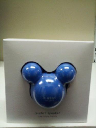 New Protable X-Mini Travel Usb Speaker For Mp3 Mp4 Pc Ipod Blue By Ahmet