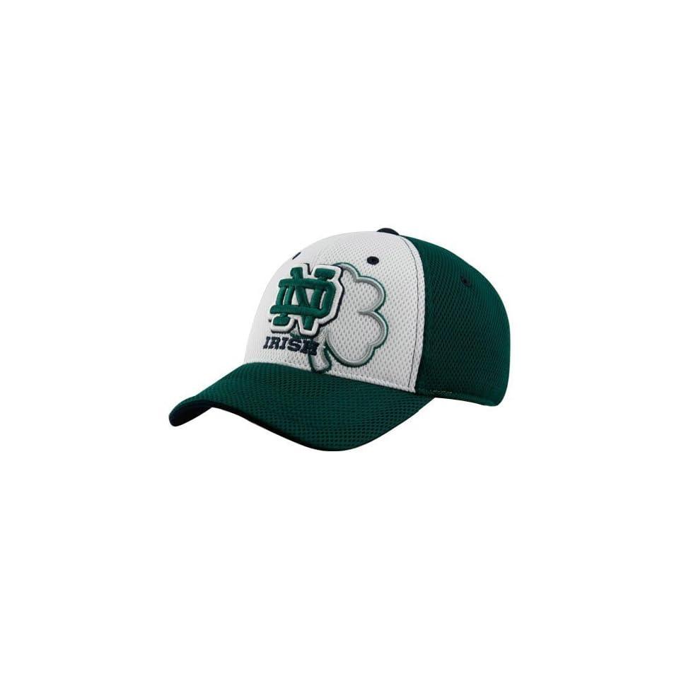 Top of the World Notre Dame Fighting Irish Green Wild Card Mesh Flex Fit Hat