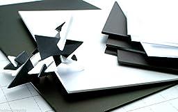 Foam Boards White Black 5mm A3 A4 Foamboards Mood Boards Pack Mounting Boards (A3 Black 5 x 5mm)