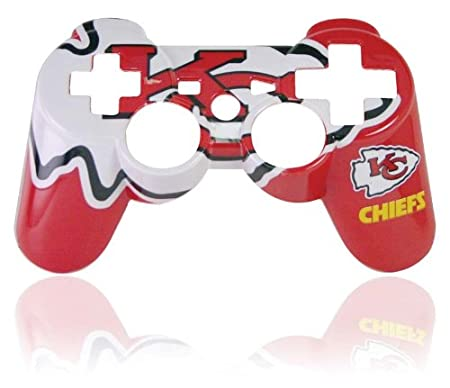 PS3 Official NFL Kansa City Chiefs Controller Faceplate