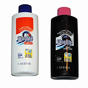 Woolite Travel Size Set for Dark and Light Clothes