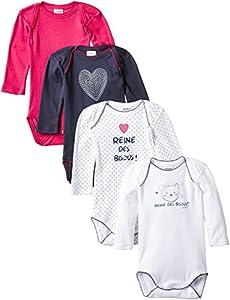 Absorba 6G60266-EC Body para Bebé-Niñas marca Absorba Underwear