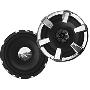 Audiobahn 6-1/2-Inch 2-Way AS Series Full Range Speakers with Removable Tweeter for Remote Mounting (AS62J)