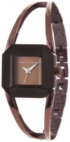 French Connection Women's FC1023C Brown-tone Stainless Steel Watch