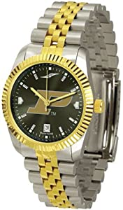 Purdue Boilermakers NCAA AnoChrome Executive Mens Watch by SunTime