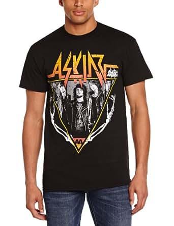 Amazon.com: Asking Alexandria Skeleton Arms Official Mens New Black T