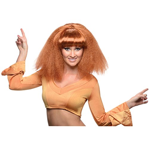 Rubie's Costume Go DiscoWig, Light Brown, One Size