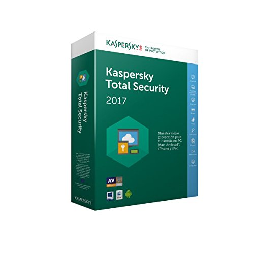 SOFTWARE ANTIVIRUS KASPERSKY 2017 TOTAL SECURITY 3 LICENCIAS