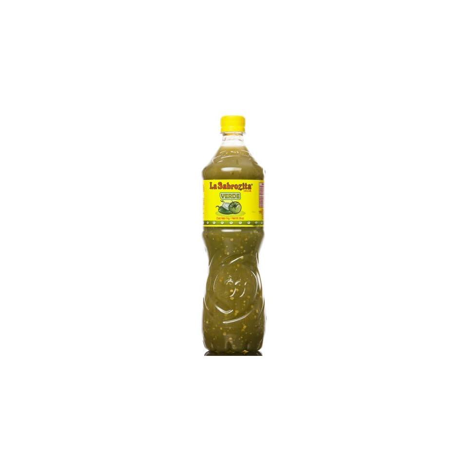 La Sabrozita Homestyle Tomatillo Salsa (Salsa Verde), 35 Ounce Bottles